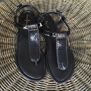 Cole Haan 'Molly' Patent Leather Sandals